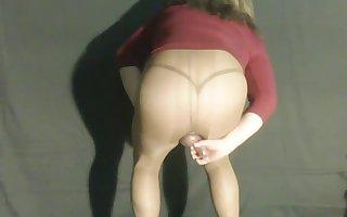 Masturbating shemale whore wants cock