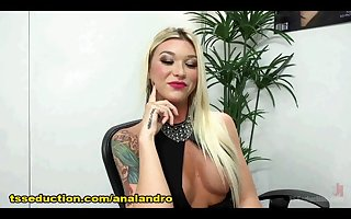 Transsexual Gives her FIRST CREAMPIE EVER