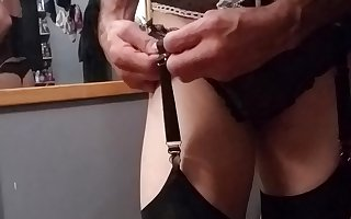 CD Michelle Changing Garter strap frrom Lingerie to Pantie
