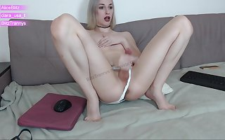 Alice BLitz cum on sofa