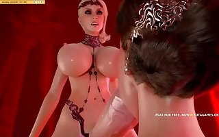 My favorite futanari 3d action, hot episode#3