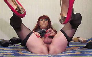 Sexy TGirl Jolanta and little dick (002)