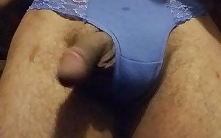 Blowing Clouds On Dick In A Thong